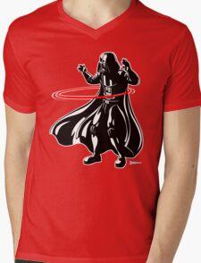 Darth Vader loves to Hula Hoop Mens V-Neck T-Shirt