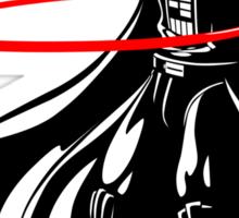 Darth Vader loves to Hula Hoop Sticker