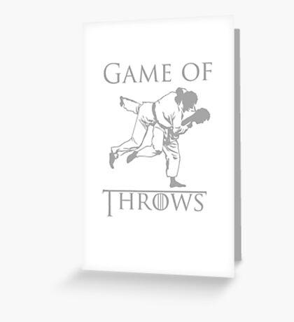 Game of Throws Greeting Card