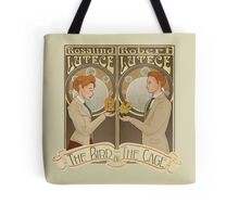 Lutece Twins Nouveau Tote Bag