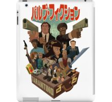 Pulp Fiction Manga ! iPad Case/Skin