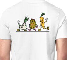 VEGGIES, Vegetables, Vegitarian, Veegan, Veg, Cartoon, fun, funny Unisex T-Shirt