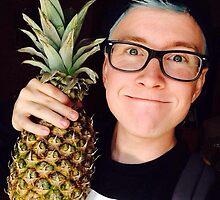 Tyler Oakley Pineapple by nicolinelisby