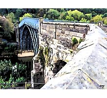 IRONBRIDGE ENGLAND (J) Photographic Print