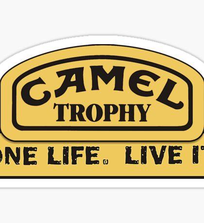 Land Rover - Camel Trophy Challenge Sticker
