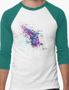 Splash of a Hummingbird Men's Baseball ¾ T-Shirt