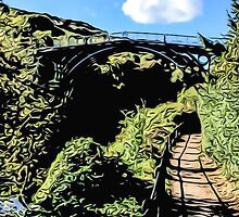 IRONBRIDGE ENGLAND (L) by TONYARTIST