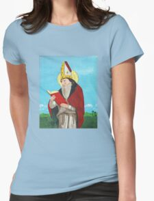 St. Augustine of Hippo Womens Fitted T-Shirt