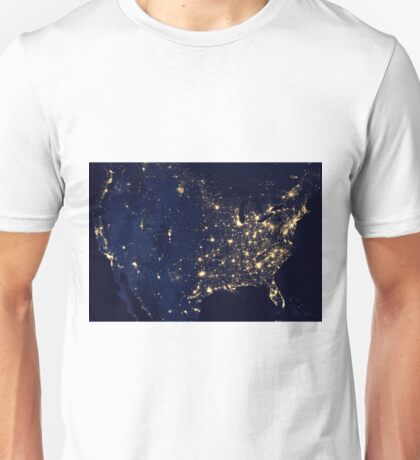 USA Nightlife Unisex T-Shirt