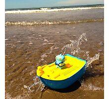 Babo sails the high seas! Photographic Print