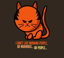 This grumpy cat is not a morning person Unisex T-Shirt