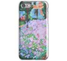 Garden at Giverny iPhone Case/Skin