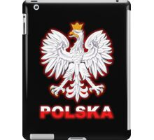 Polska - Polish Coat of Arms - White Eagle iPad Case/Skin