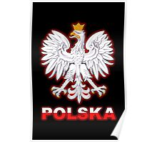 Polska - Polish Coat of Arms - White Eagle Poster