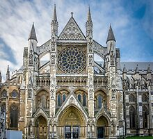 Westminster Abbey Entrance by Sue Martin