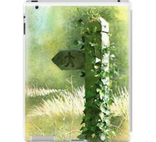'Footpath Sign' - Watercolours. iPad Case/Skin