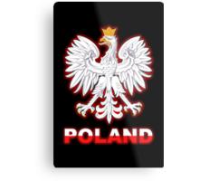 Poland - Polish Coat of Arms - White Eagle Metal Print