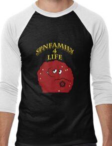 Meatwad the Hunter! Men's Baseball ¾ T-Shirt