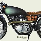 Cafe Racer by JohnLowerson