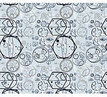 Gallifrey Symbols Photographic Print