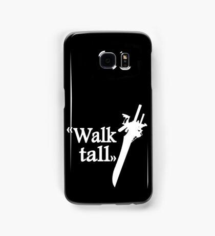 Walk tall Samsung Galaxy Case/Skin