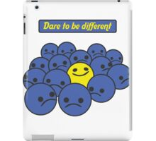 Dare to be different iPad Case/Skin