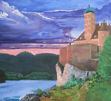 Schönbühel Castle on the Danube by gmhharden