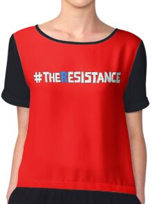 The Resistance Anti Trump Chiffon Top