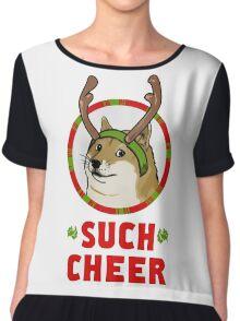 A Well Spirited Doge Chiffon Top