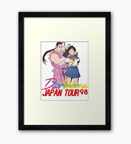 dan x sakura japan tour 98 Framed Print