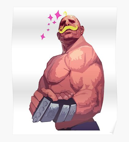 Fullmetal Alchemist - Armstrong Poster