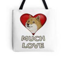 Doge Valentine's Day Tote Bag