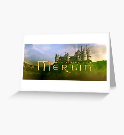 Merlin - Introduction Season 1 Greeting Card