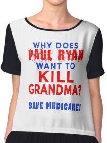 Paul Ryan Keep Medicare Safe Chiffon Top