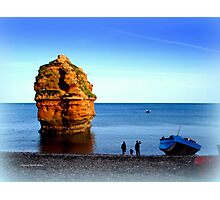 Ladram Rock Photographic Print