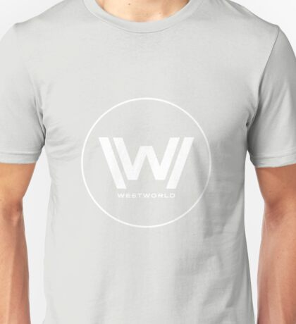 Westworld White Logo Unisex T-Shirt