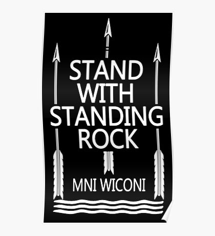 Official Standing Rock Shirt Poster