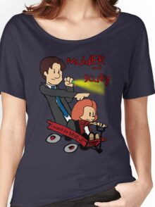 Mulder and Scully Women's Relaxed Fit T-Shirt