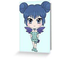 Mew Mint Greeting Card
