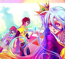 No Game, No Life by dreamerwhit95