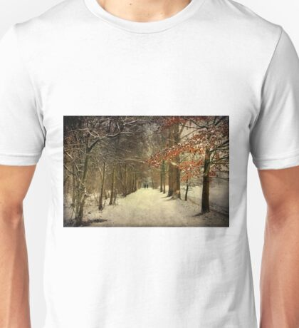 Enchanting Dutch Winter Landscape Unisex T-Shirt