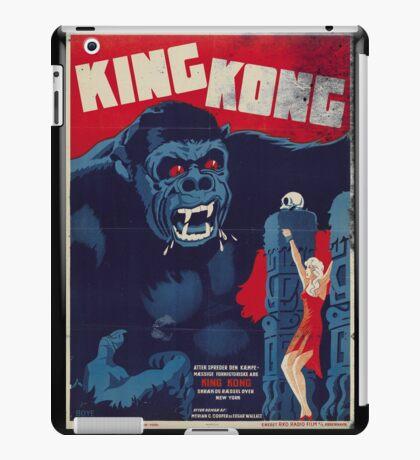 King Kong Vintage Retro Movie Poster iPad Case/Skin
