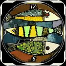 Time to Fish #3 by Betsy  Seeton