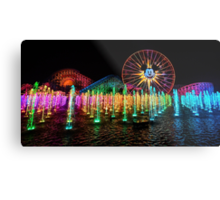 The Wonderful World of Color Metal Print