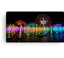 The Wonderful World of Color Canvas Print