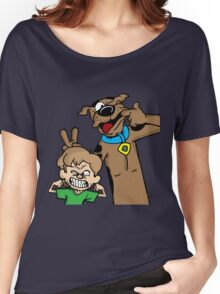 Scooby and Shaggy Women's Relaxed Fit T-Shirt