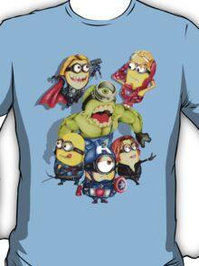 Cute caricature parody comics superheroes Group T-Shirt