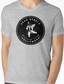 Dead Rebels Bicycle Club Mens V-Neck T-Shirt