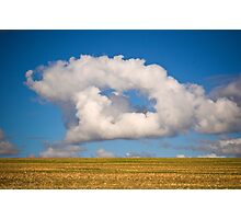 Unusual Cloud. Photographic Print
