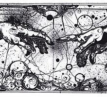 Creation of Adam by Michelangelo by tshinzastewart